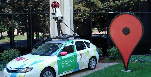 Google Street View violación patentes