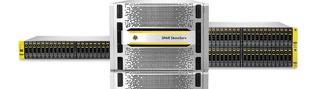HP mejora sus cabinas HP 3PAR StoreServ