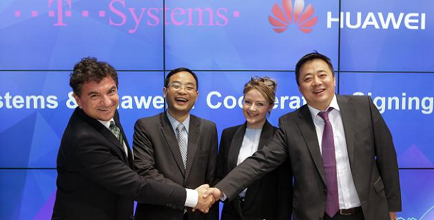 Huawei T-Systems acuerdo nube