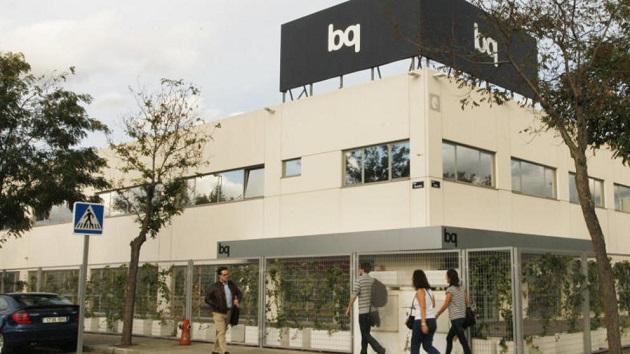 BQ, número uno en ventas on-line en España