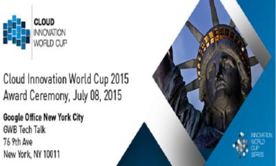premios Cloud Innovation World Cup 2015