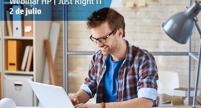 Webinar HP Just Right IT: si tienes una pyme, esto te interesa