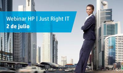 Webinar HP Just Right IT: productos, soluciones y servicios para la pyme