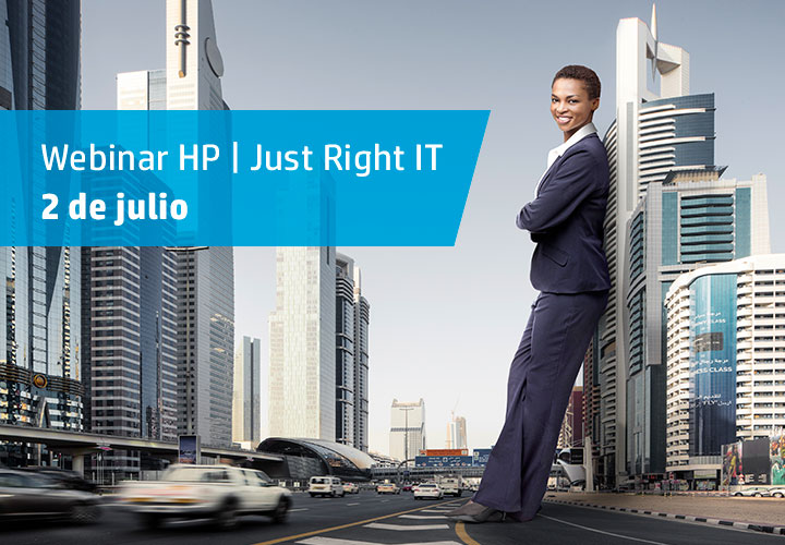 Webinar HP Just Right IT: productos, soluciones y servicios para la pyme