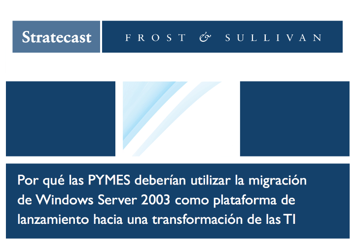 Migración de Windows Server 2003 en las pymes