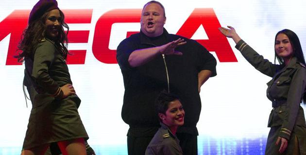 Mega Kim Dotcom Bolsa Nueva Zelanda