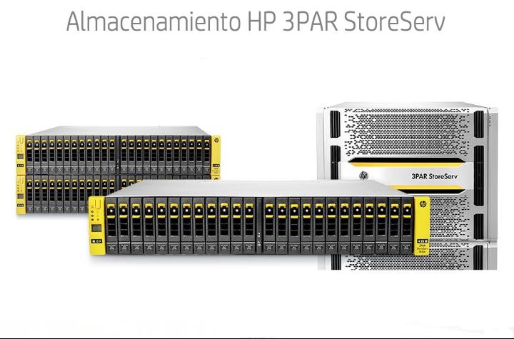 Nuevas cabinas de almacenamiento All-Flash de HP