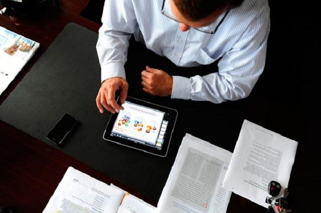 iPad negocios