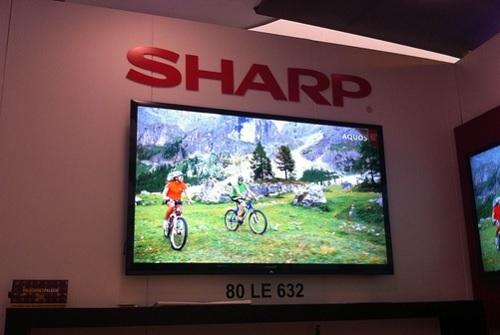Sharp busca alianzas para su negocio de pantallas planas