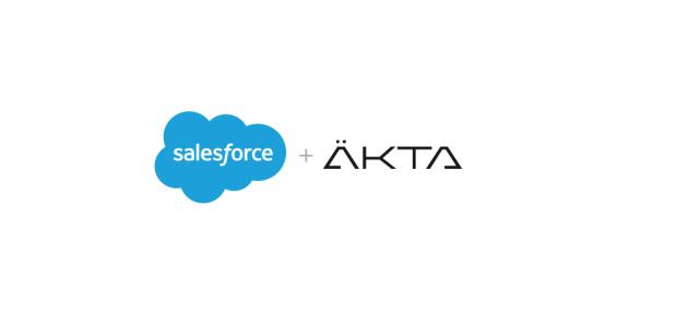 Salesforce compra ÄKTA