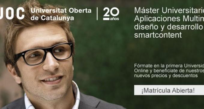 Aplicaciones multimedia: diseño y desarrollo de smart content