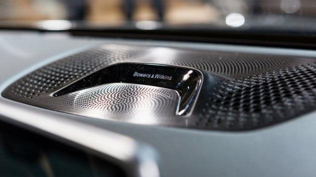 serie 7 de BMW por la marca británica especialista en audio Bowers & Wilkins,