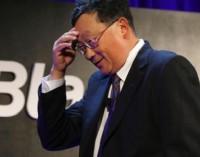 Los inversores empiezan a perder la paciencia con BlackBerry