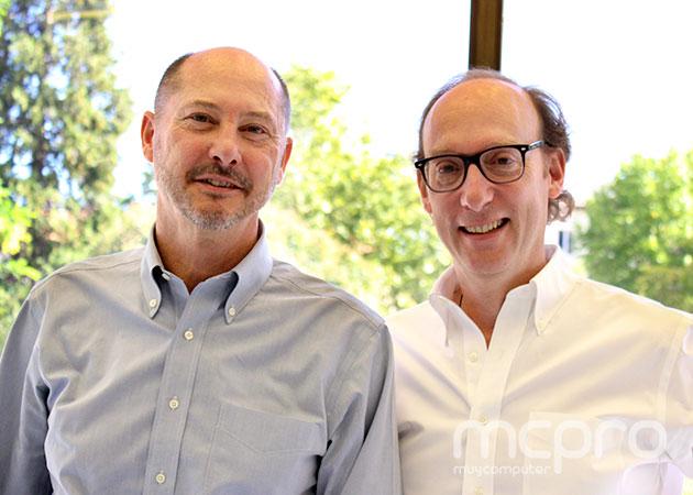 Andrés Vera (izquierda) y Miguel Yacobi (derecha), fundadores de ThinkSmart.