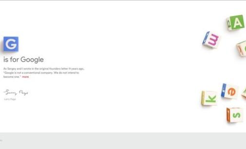 Adiós Google, hola Alphabet