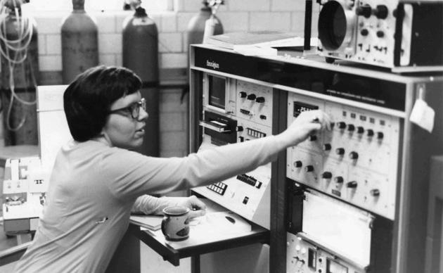 Mujer cientifica