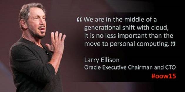 Larry Ellison inaugura el Oracle OpenWorld 2015