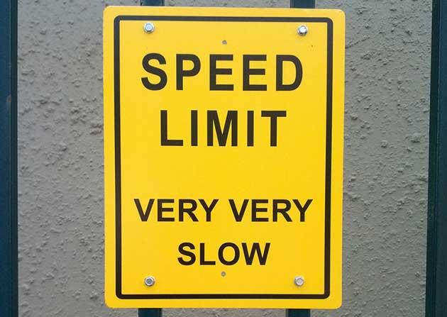 Señal baja velocidad