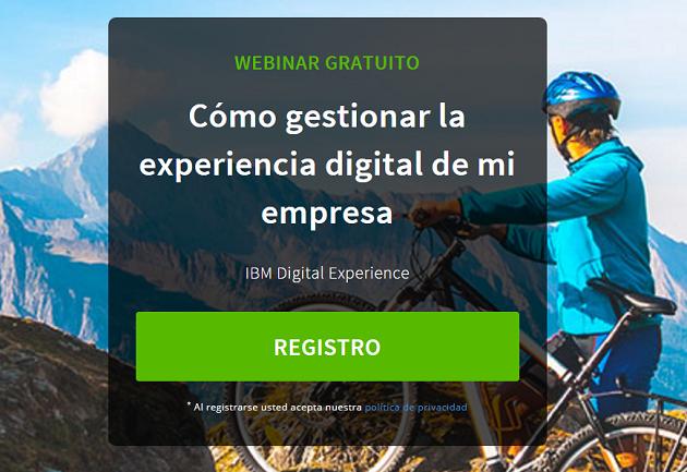 """Ya está disponible el webinar """"Cómo gestionar la experiencia digital de mi empresa"""""""