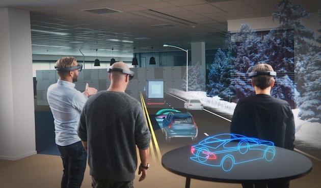 Volvo y Microsoft te invitan a conducir su nuevo… holograma