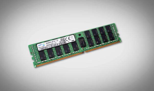 Samsung comienza la producción de módulos de memoria 128Gb DDR4
