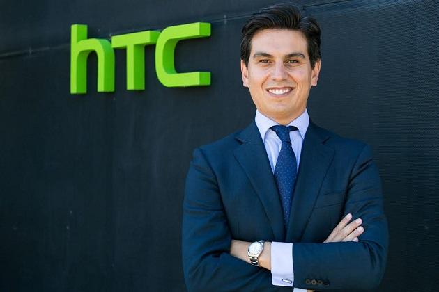 Rubén Pérez Prieto será el nuevo country head de HTC Iberia