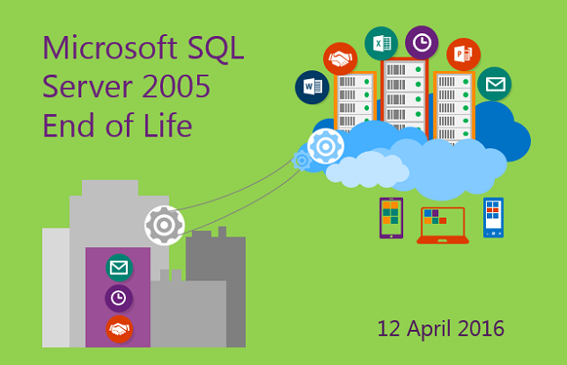 Ya está on-line el webinar sobre el fin de soporte a SQL Server 2005