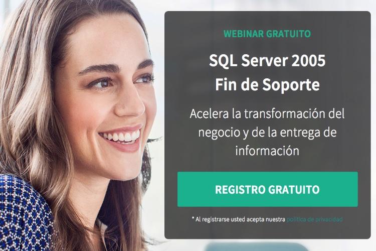 Qué hacer ante el fin del soporte de SQL Server 2005