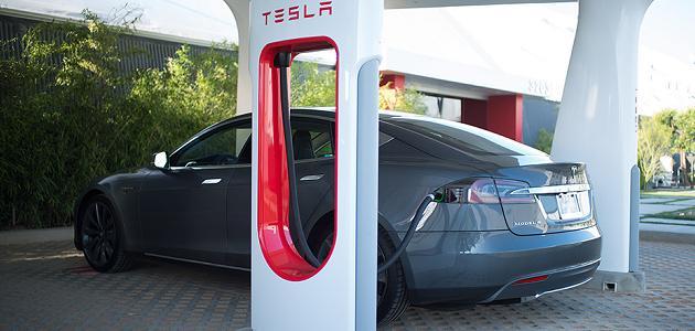 Tesla supercargadores España