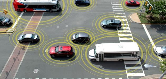 conexión 5G entre coches en tiempo real