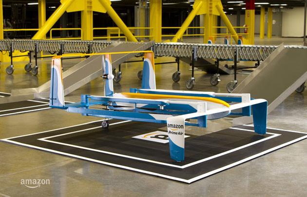 Amazon estrena nuevo modelo de drone en el Cyber Monday