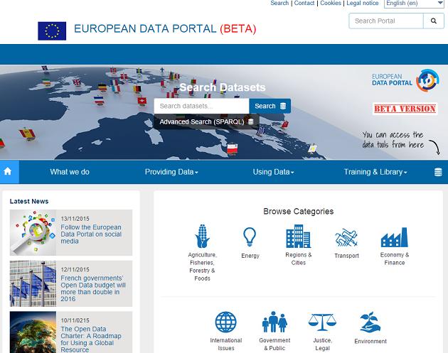 portal europeo