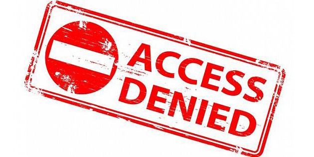 Acceso bloqueado