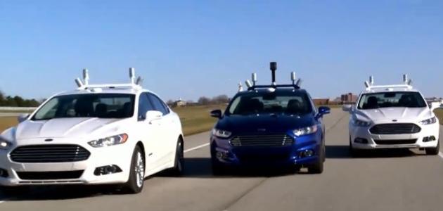 Ford pruebas vehículos autónomos