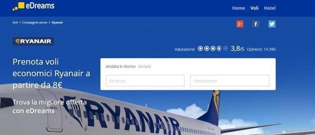 Google demandada por Ryanair