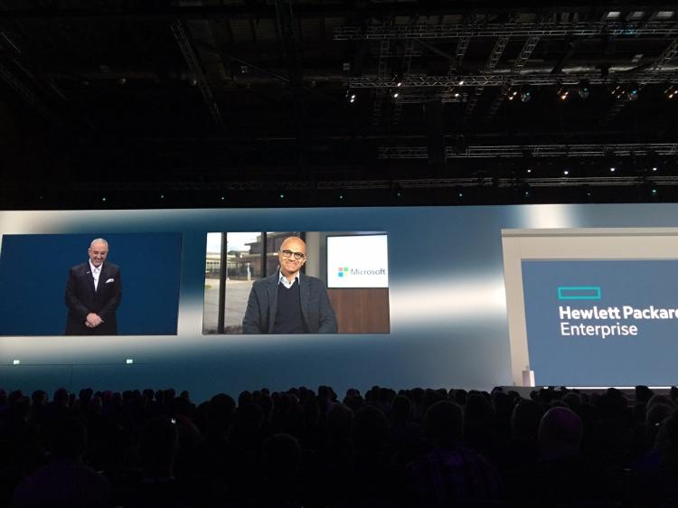 Meg Whitman inaugura el primer Discover de Hewlett Packard Enterprise