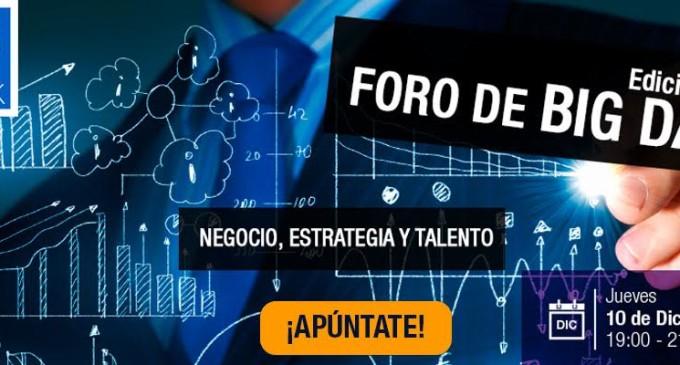Negocio, estrategia y talento: puntos claves del Foro Big Data 2015