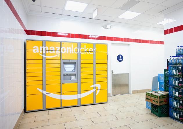 Amazon europeos taquillas recoger envíos