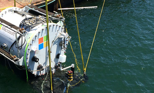 Natick: el experimento de Microsoft con datacenters submarinos