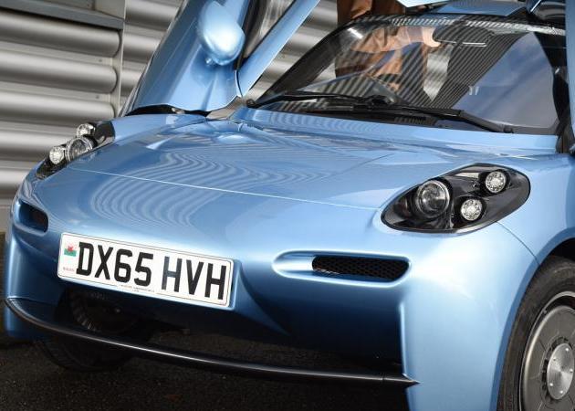 Primer coche batería hidrógeno Barcelona