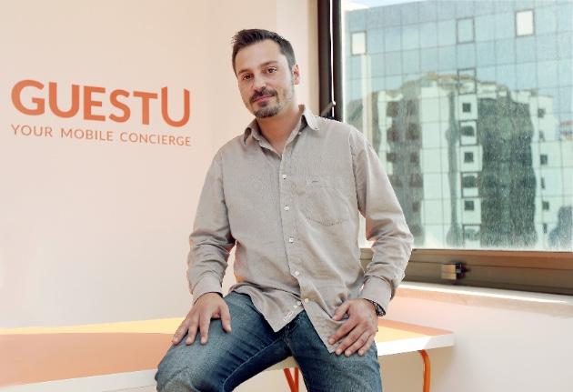 """Rui Rebelo, de GuestU: """"Democratizamos el servicio de conserjería propio de hoteles de alto standing"""""""
