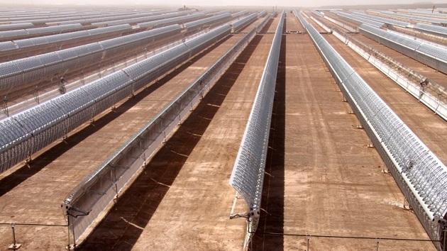Marruecos, cuna de la planta de energía solar más grande del mundo