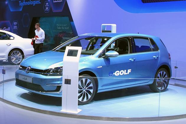 Volkswagen Golf Eléctrico
