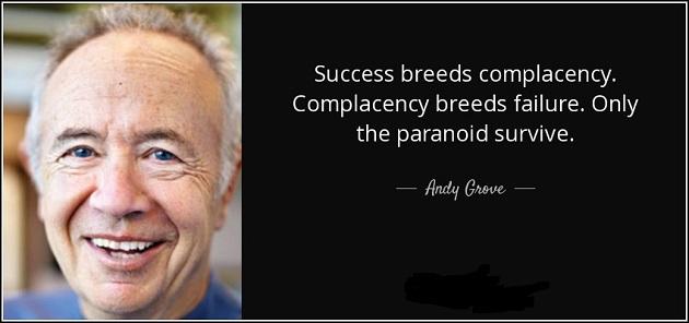 Lo que me enseñó Andy Grove