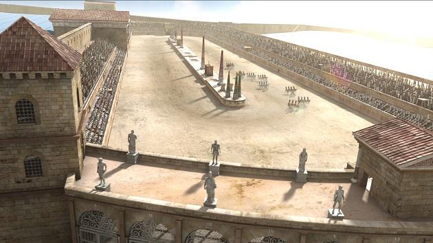 Samsung ayuda a recrear la ciudad imperial de Tarraco basándose en la serie de TVE