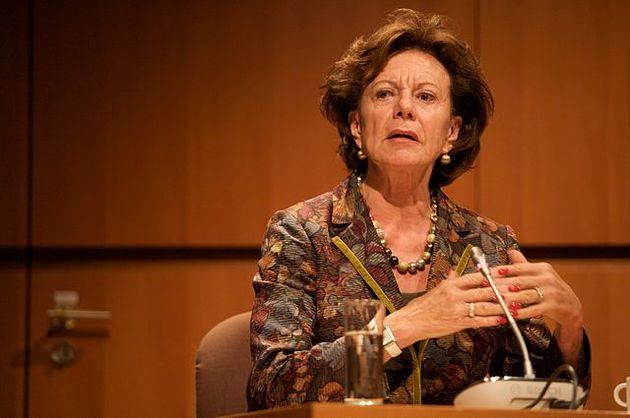 La ex comisaria europea, Neelie Kroes, se une a la Junta Directiva de Salesforce