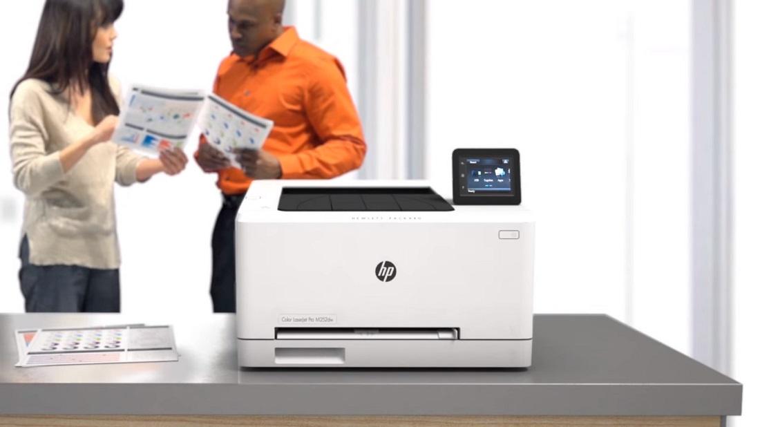 Descubre la HP Color LaserJet Pro M252dw en vídeo