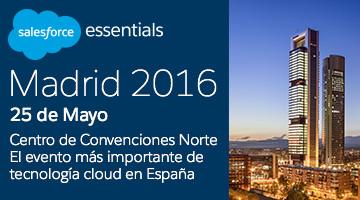 Salesforce Essentials Madrid 2016