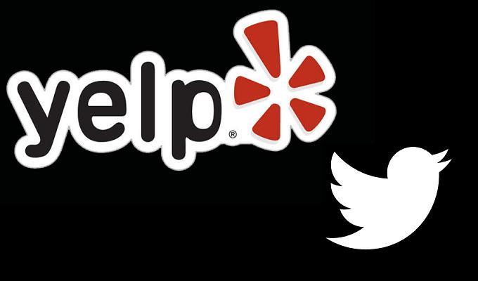 Twitter y Yelp se alían en favor de los negocios