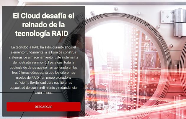 El cloud desafía el reinado de la tecnología RAID